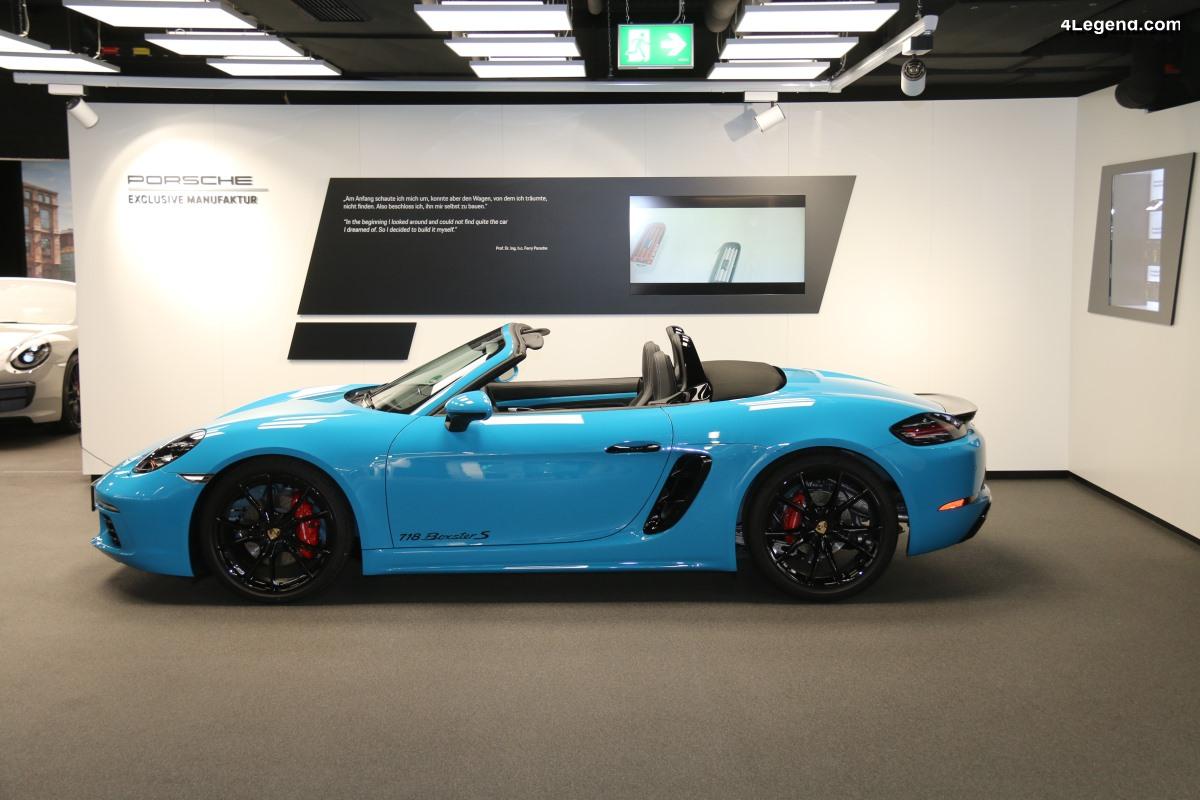 Porsche Exclusive Manufaktur - De la demande du client à la voiture unique
