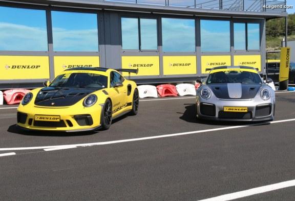 Technologies du pneu Dunlop Sport Maxx Race 2 homologué pour Porsche 911 GT2 RS & 911 GT3 RS