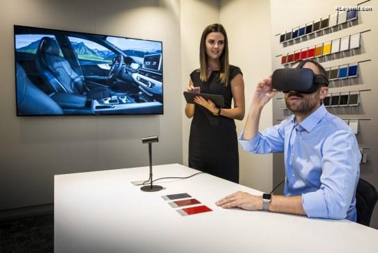 Audi intègre la réalité virtuelle dans ses showrooms belges