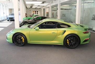 Visite du showroom Porsche Exclusive Manufaktur au cœur de l'usine de Zuffenhausen