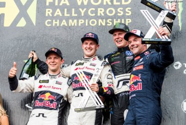 World RX – Premier podium pour le pilote EKS Audi Sport – Andreas Bakkerud – à Silverstone