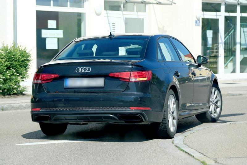 Spyshots Audi A4 B9 Facelift From 2019 Tech2