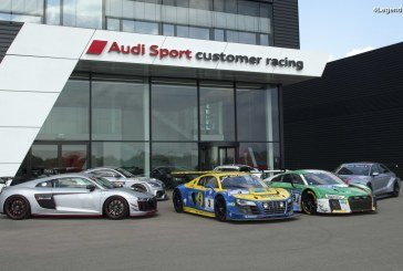 Audi Sport customer racing fête ses 10 ans