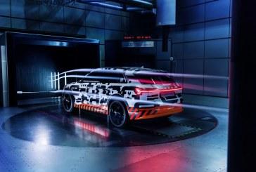 Streamline : le prototype Audi e-tron est ultra aérodynamique