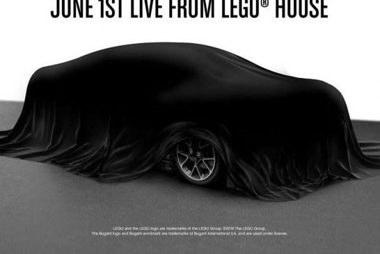 Présentation en direct de la Bugatti Chiron en LEGO le 1er juin 2018 à 9h00 avec Stephan Winkelmann