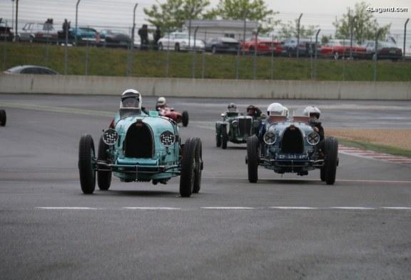 Des Bugatti en piste aux Classic Days 2018 – Un superbe show