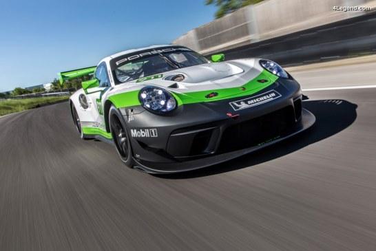 Nouvelle Porsche 911 GT3 R – La version course de la 911 GT3 RS