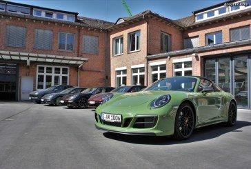 Visite exclusive du département Porsche Exclusive Manufaktur