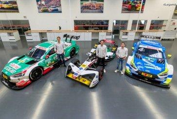 Présentation de l'équipe ABT Sportsline présente en Formule E et en DTM pour Audi