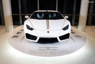 Vente de la Lamborghini Huracán du pape François à 715 000 euros à la vente aux enchères de Monte Carlo