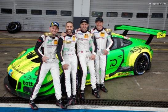 Porsche remporte les 24 Heures du Nürburgring grâce à la Porsche 911 GT3 R #912 de Manthey-Racing