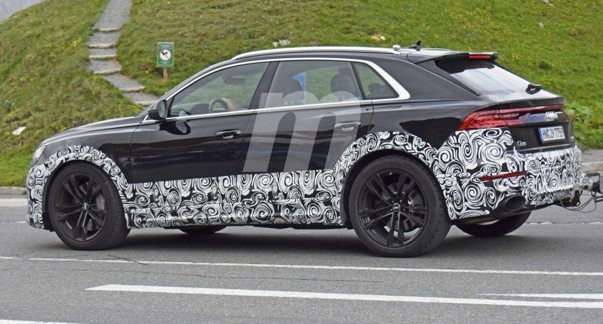 Spyshots Audi RS Q8 : Audi se lance dans le segment du super SUV
