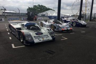 24H mans 2018 – Porsche expose des voitures de course au Porsche Experience Center Le Mans pour ses 70 ans