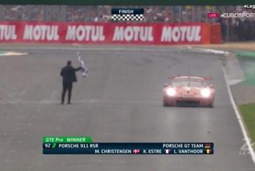 24H Mans 2018 – Double victoire Porsche pour ses 70 ans en catégorie GTE Pro et GTE Am