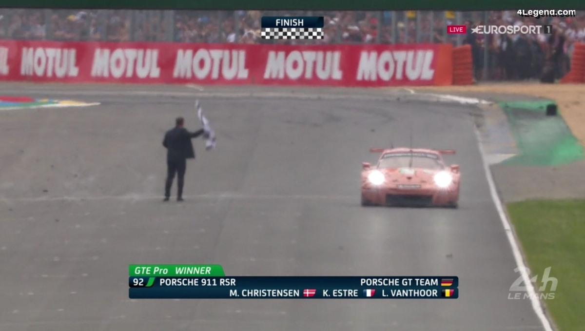 24H Mans 2018 - Double victoire Porsche pour ses 70 ans en catégorie GTE Pro et GTE Am