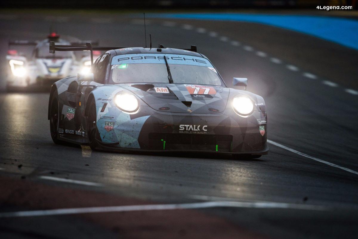 24H Mans 2018 - Porsche toujours en tête des catégories GTE Pro et GTE Am au matin