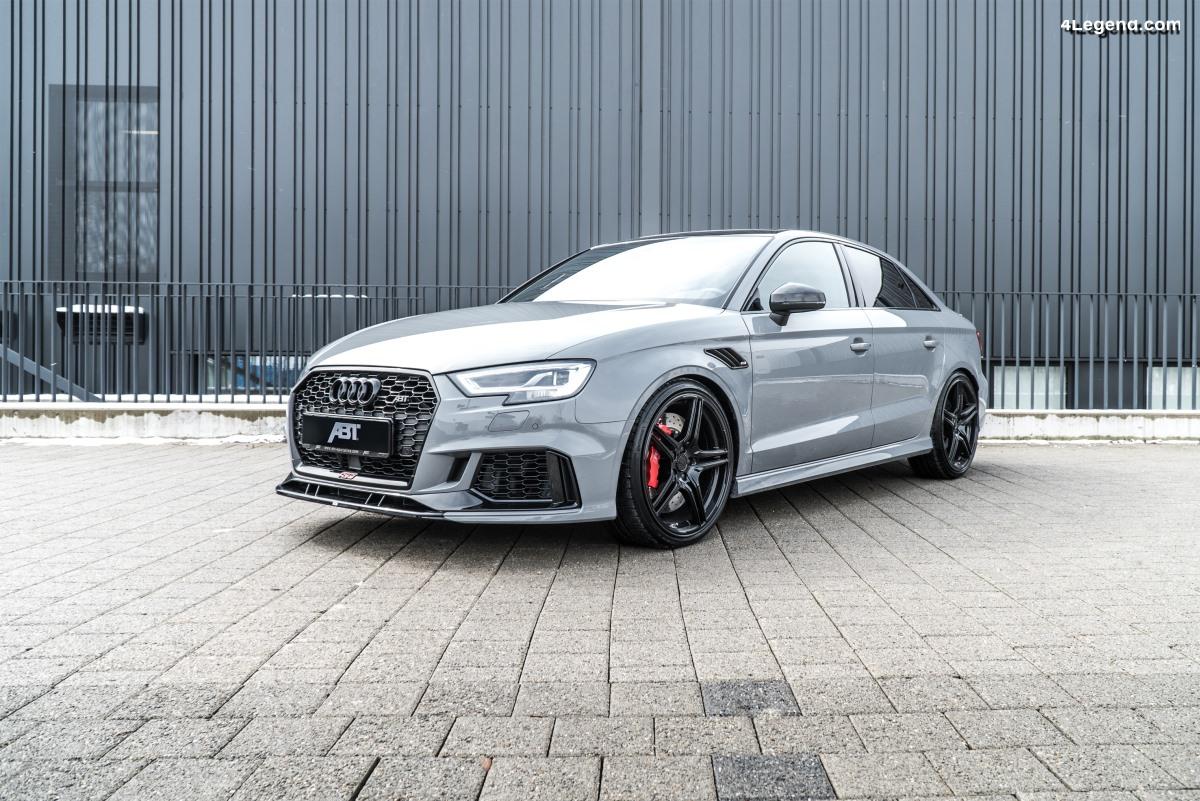 Nouvelle ABT RS3 de 500 ch - Une Audi RS 3 berline surpuissante