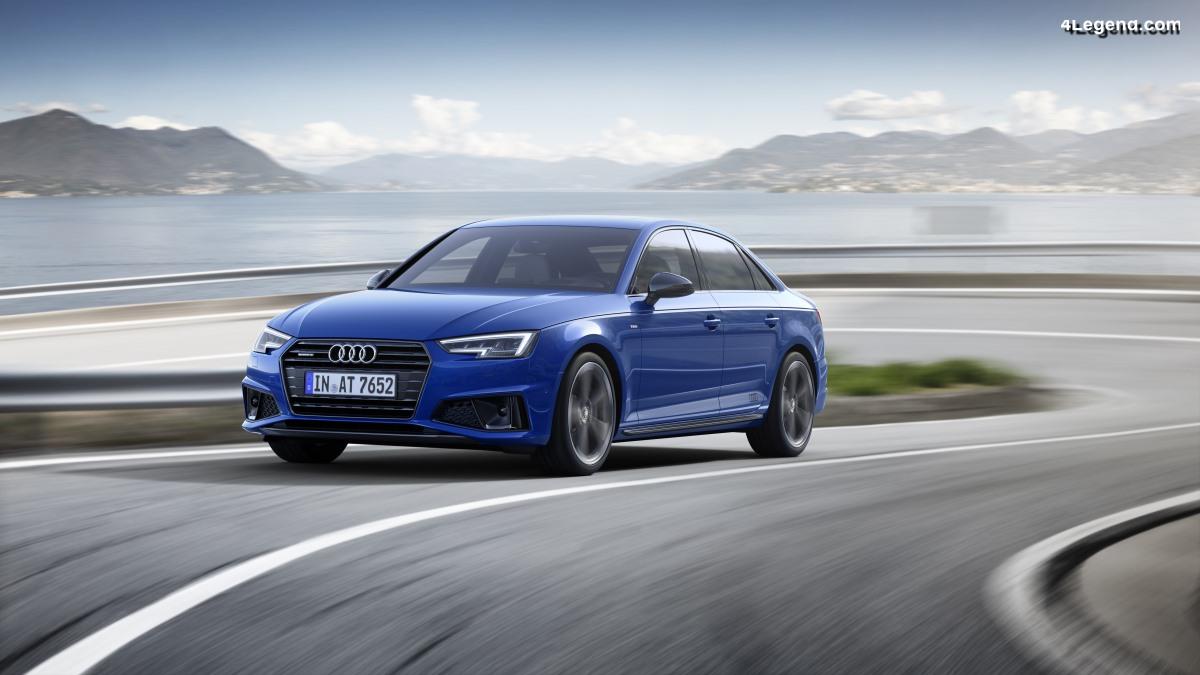 Nouvelles Audi A4 Berline et Audi A4 Avant - Restylage accentuant le caractère sportif