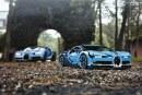Nouvelle Bugatti Chiron en LEGO Technic de 3 599 pièces à l'échelle 1/8