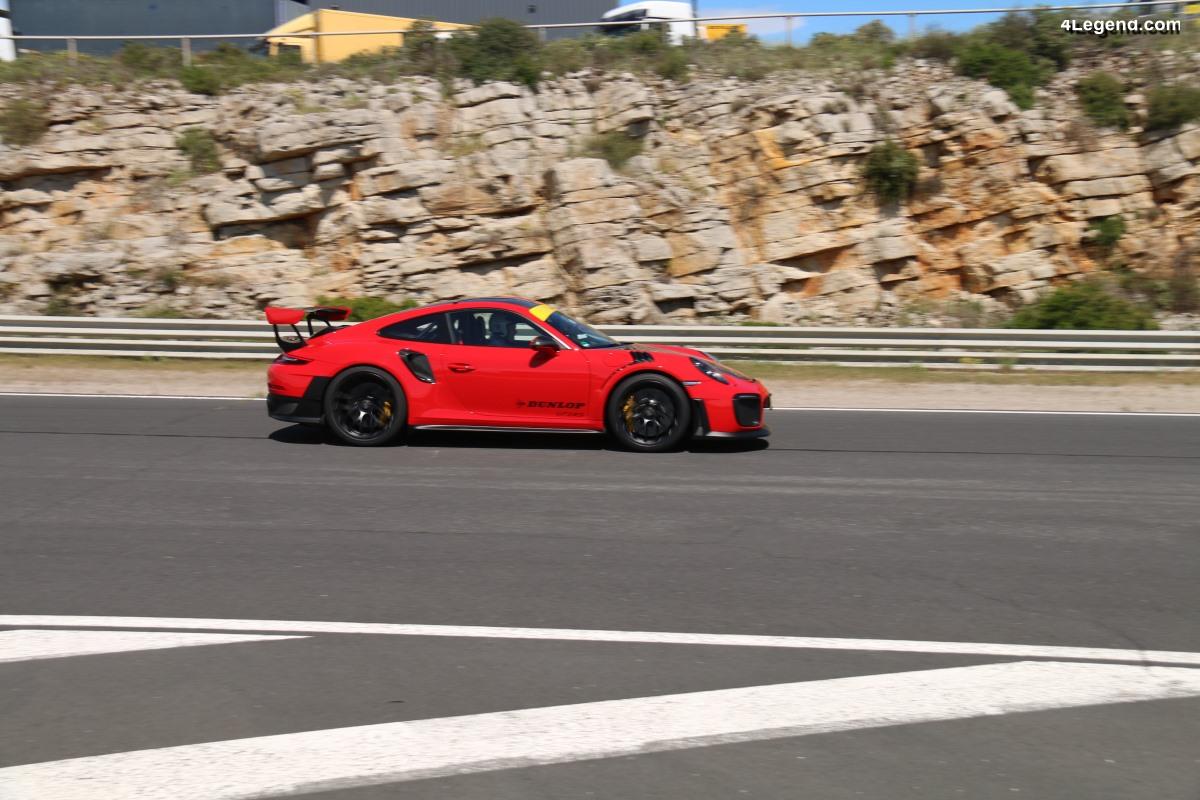 Essai Porsche 911 GT2 RS Pack Weissach avec pneus Dunlop Sport Maxx Race 2 - La 911 ultime