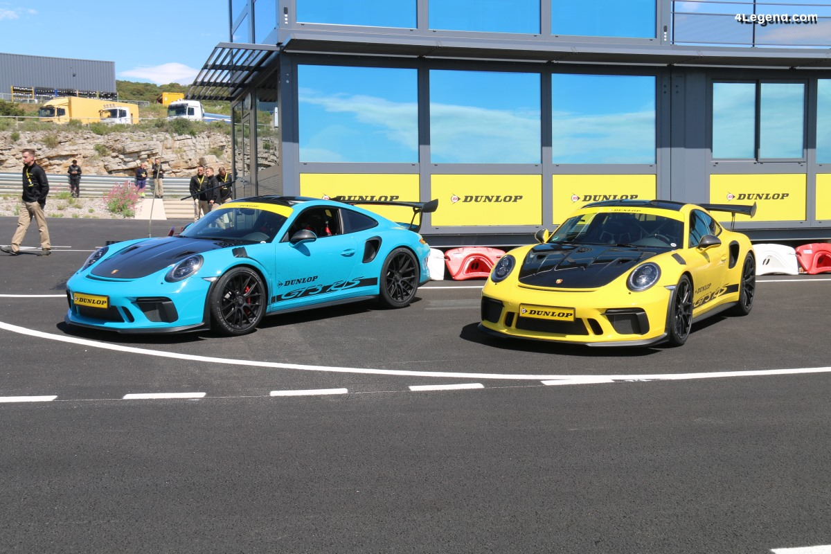 Essai Porsche 911 GT3 RS avec pneus Dunlop Sport Maxx Race 2 - Sensationnel!