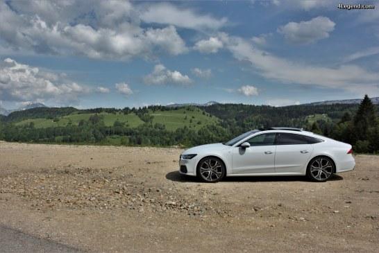 Essai Audi A7 Sportback 50 TDI quattro