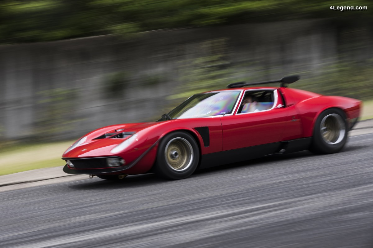 Lamborghini Polo Storico a restauré l'emblématique Miura SVR de 1968