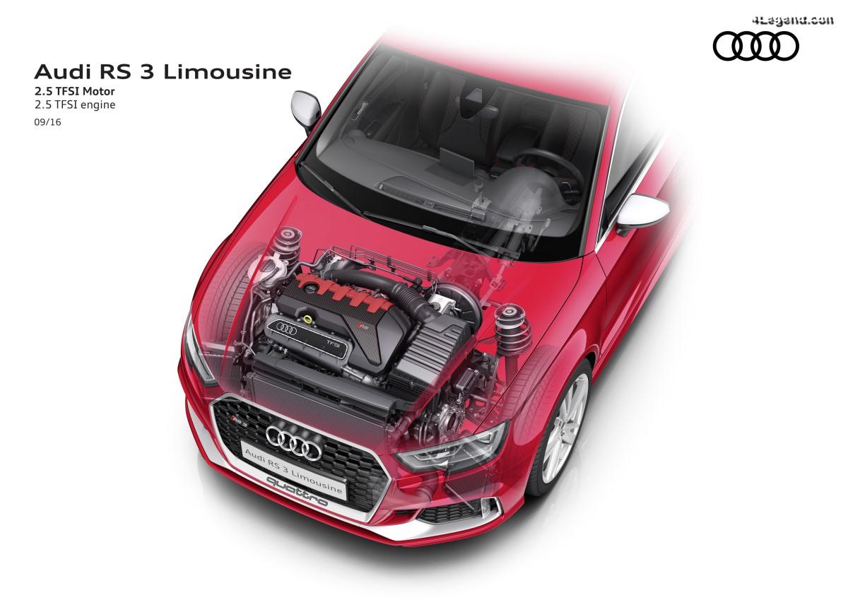 Neuvième victoire consécutive : le moteur Audi 2.5 TFSI encore une fois nommé «Engine of the Year»