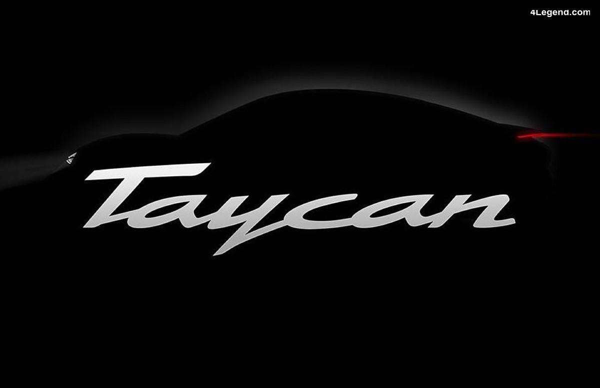 Porsche Taycan - Le nom officiel de la berline 100% électrique dérivée de la Mission E Concept