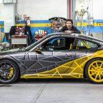 Porsche 911 GT3 Art Car réalisée par Richard Orlinski pour les 55 ans de la 911
