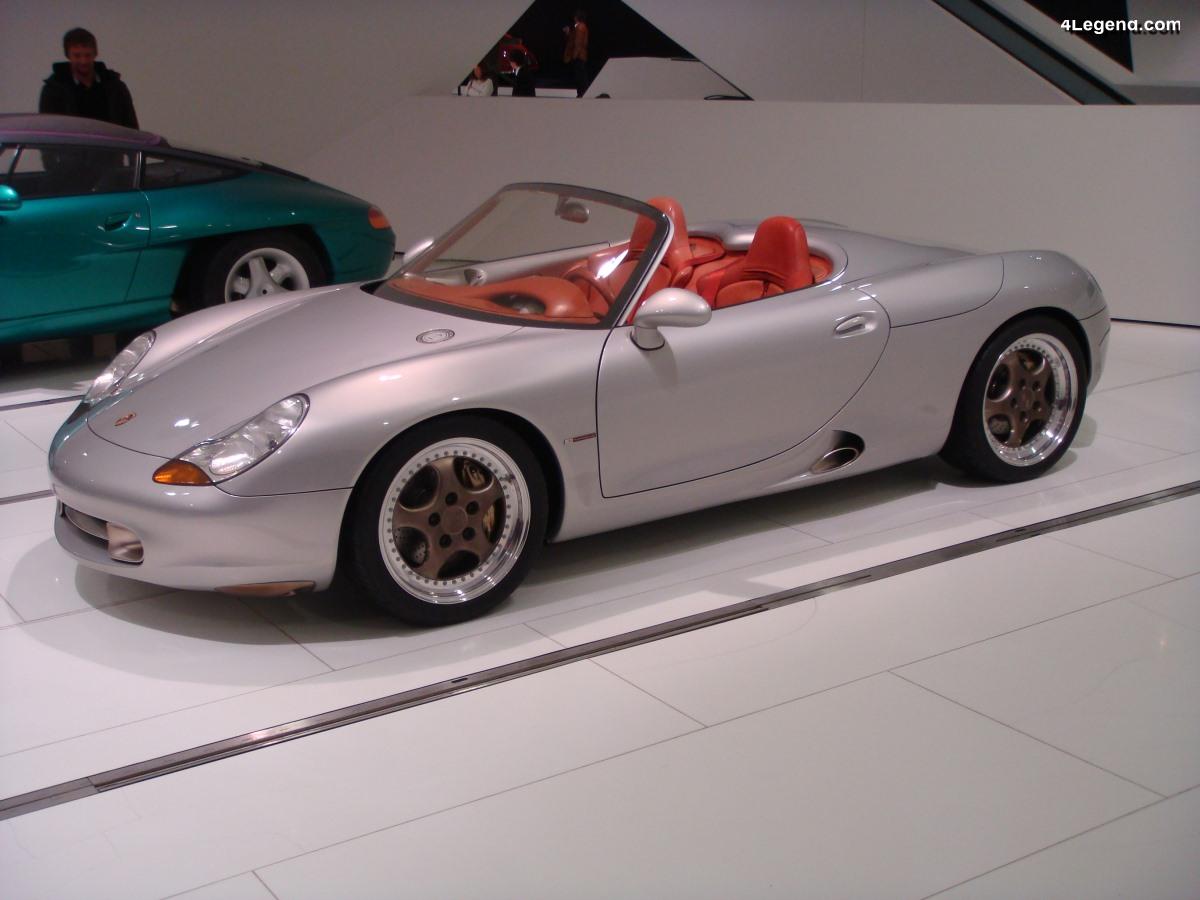 Porsche Boxster Concept de 1993 - Le concept qui sauva Porsche