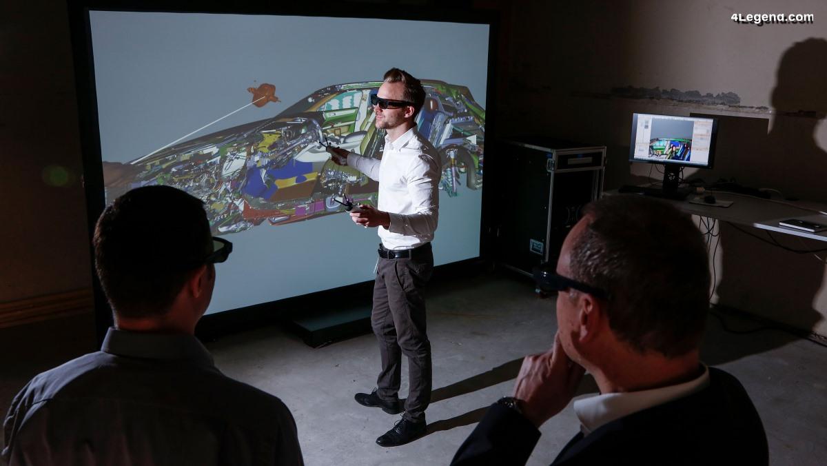 Porsche dévoile son programme de réalité virtuelle (VR) accompagné du drone