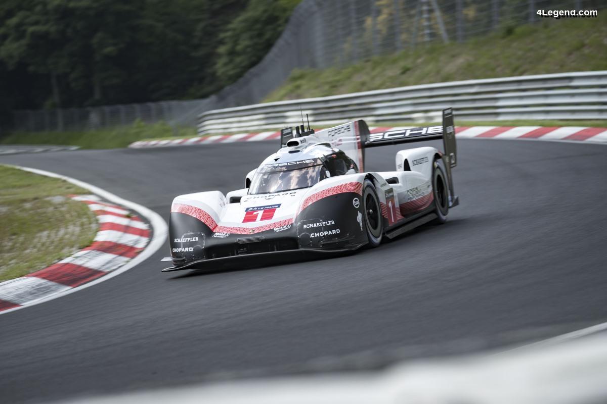 5:19.55 minutes - Un nouveau record pour la Porsche 919 Hybrid Evo sur la Nordschleife du Nürburgring