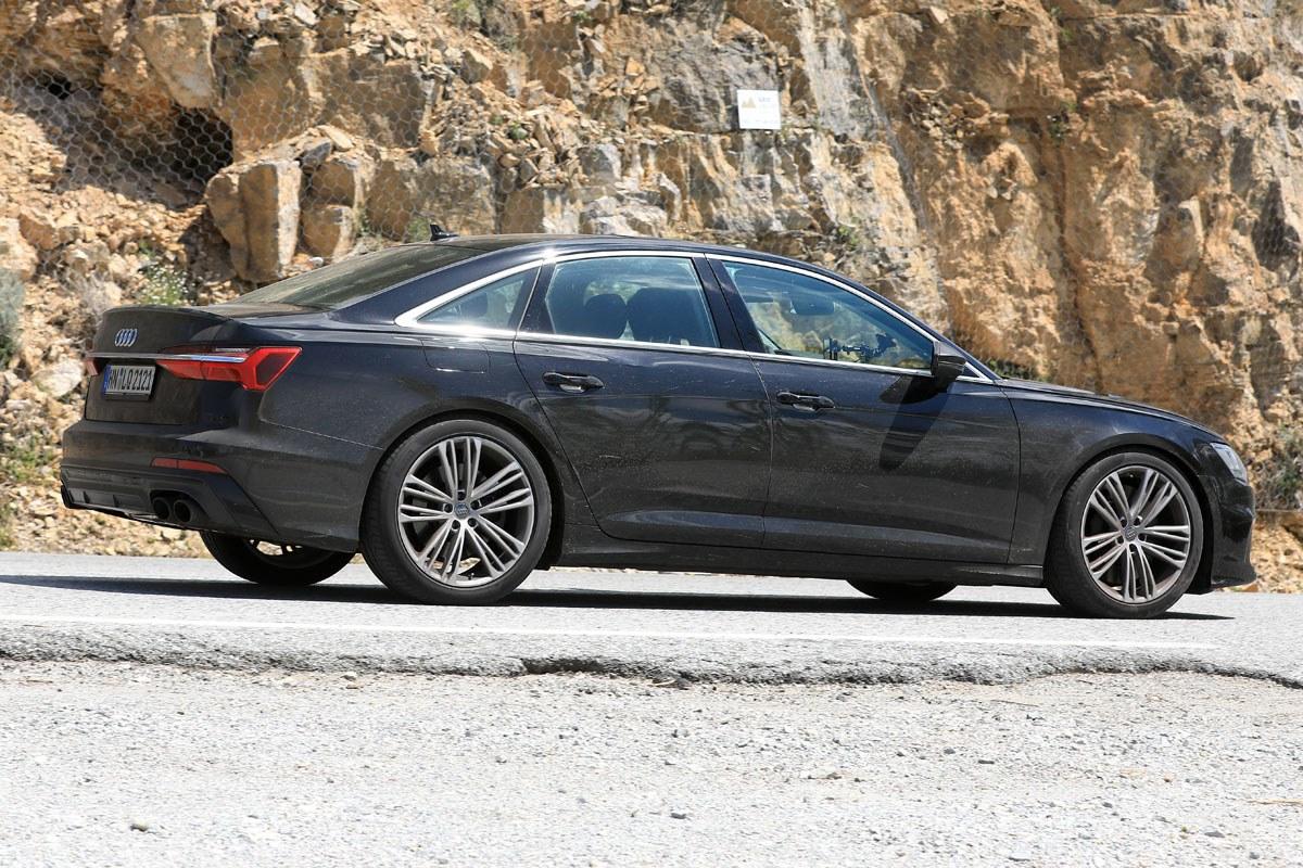 Spyshots Audi S6 C8 - Elle se dévoile sans camouflage