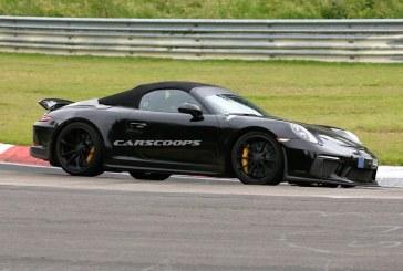 Spyshots Porsche 911 Speedster Type 991.2 – Une présentation à la rentrée