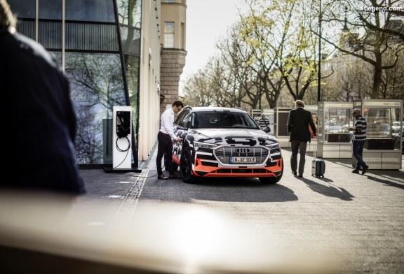 Audi relie la voiture électrique à la maison