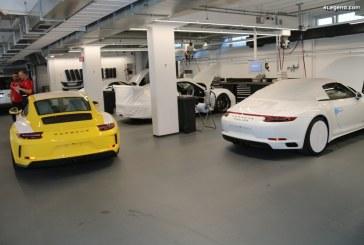 Visite exceptionnelle de l'atelier Porsche Exclusive Manufaktur à Zuffenhausen