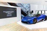 Première japonaise de la Lamborghini Huracán Performante Spyder au Lamborghini Lounge Tokyo