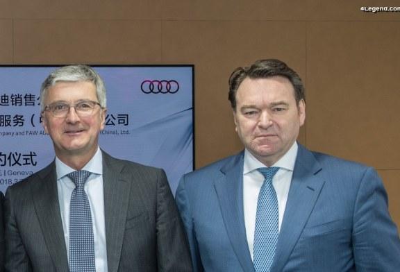 Abraham Schot nommé Président du Directoire Audi par interim avec effet immédiat