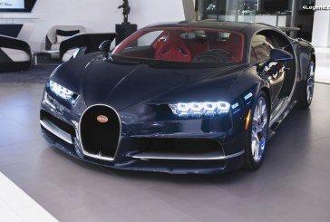 Nouvelle identité architecturale de la marque Bugatti pour le showroom inauguré à Toronto
