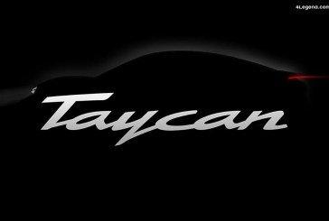 Porsche Taycan – Le nom officiel de la berline 100% électrique dérivée de la Mission E Concept