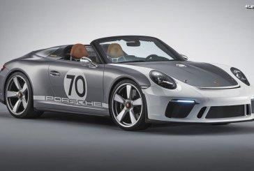 Porsche 911 Speedster Concept : Une étude de Speedster de plus de 500 ch pour les 70 ans de Porsche