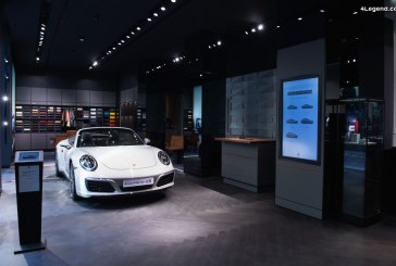 Ouverture d'un nouveau Porsche Studio à Milan