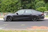 Spyshots du mulet de l'Audi RS 7 Sportback