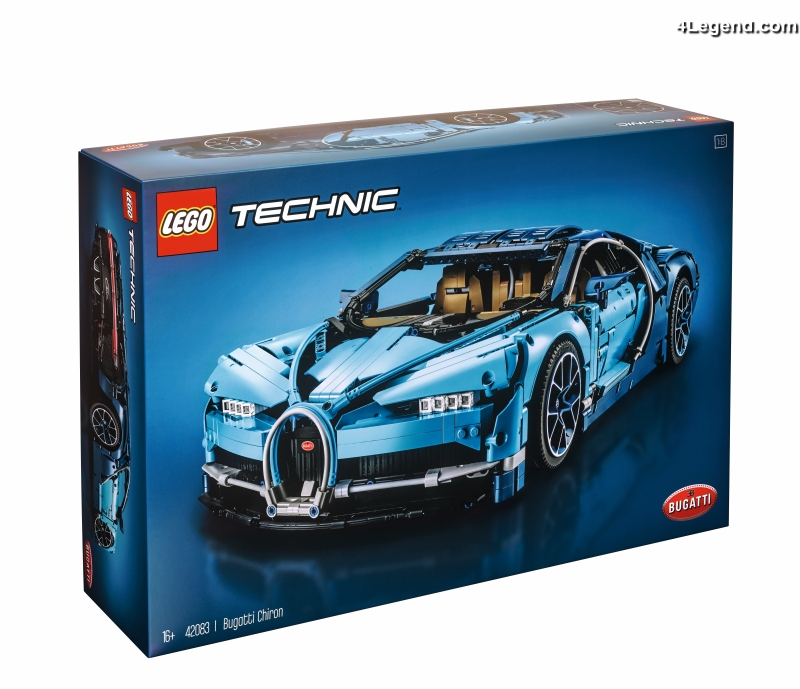 nouvelle bugatti chiron en lego technic de 3 599 pi ces l chelle 1 8. Black Bedroom Furniture Sets. Home Design Ideas