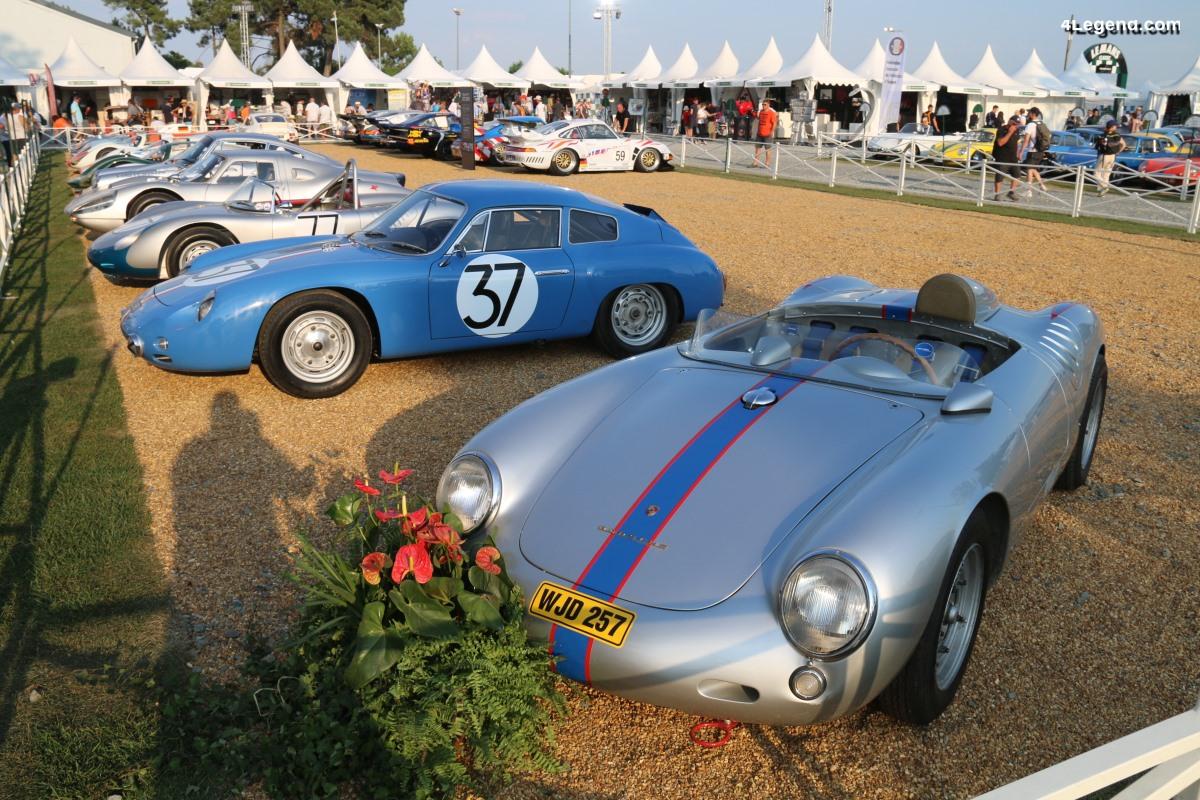 Le Mans Classic 2018 – Incroyable exposition de Porsche de course dans le village