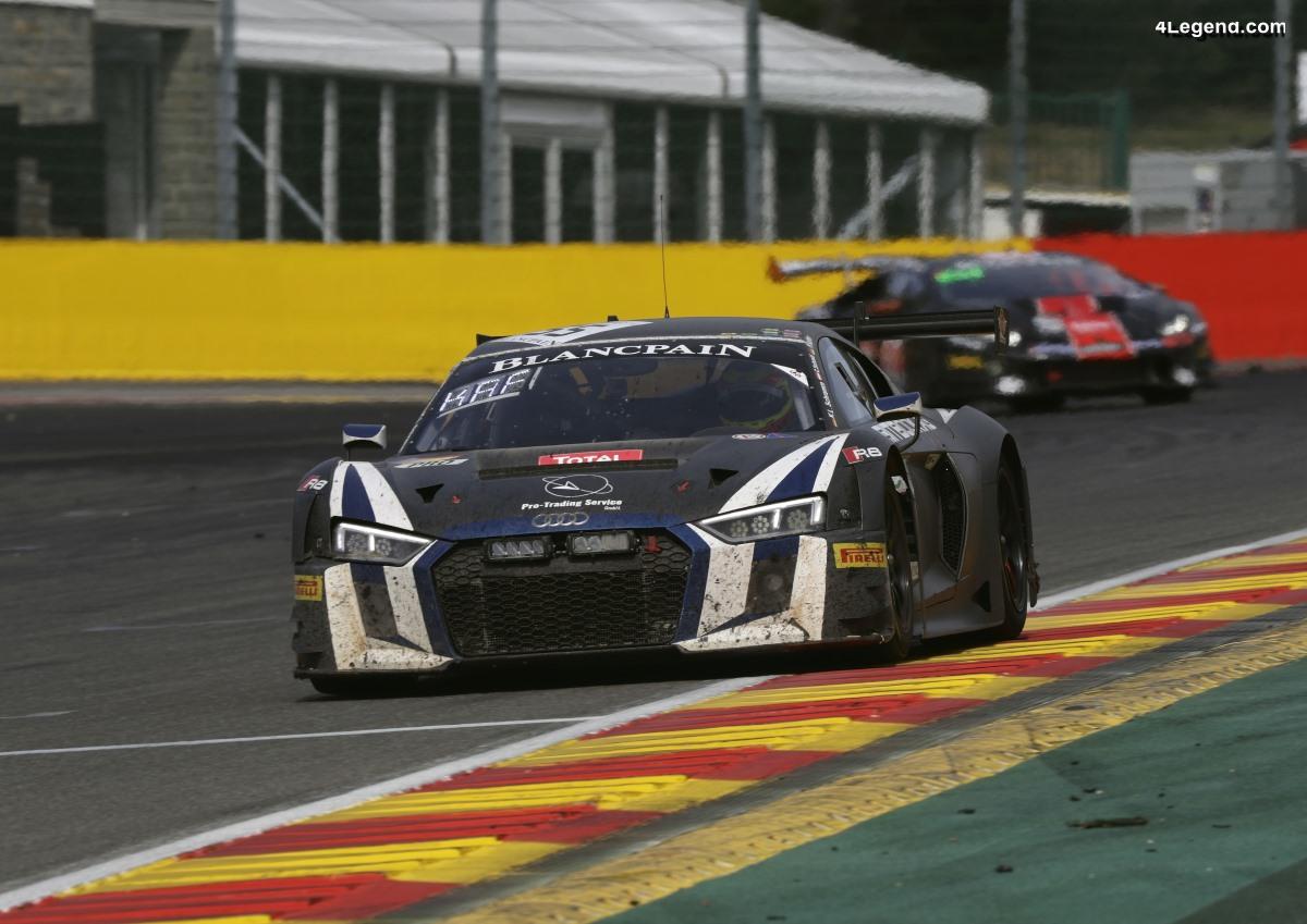 Podium pour Audi aux 24 Heures de Spa 2018
