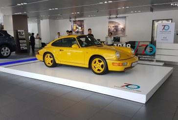 Des modèles uniques pour les 70 ans de Porsche au Centre Porsche Puxi à Shanghai