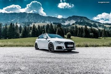 Nouvelle ABT Audi RS 3 Sportback Edelweiss de 500 ch