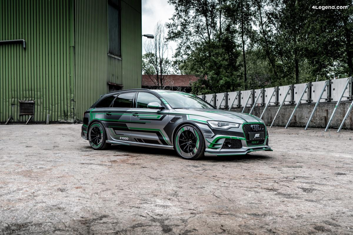 ABT Audi RS6-E - Un prototype hybride de 1 018 ch basé sur l'Audi RS 6 Avant C7